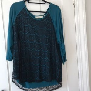Tops - Sejour (Nordstrom) lace top